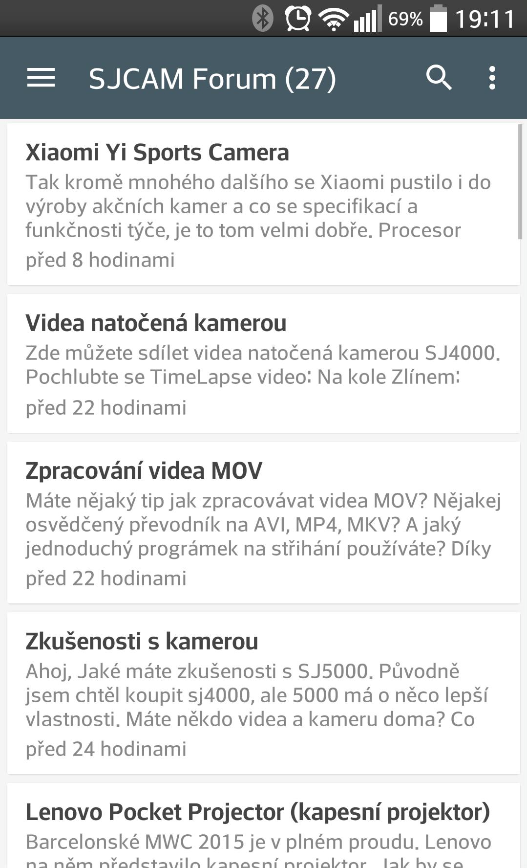 Novinky na fóru App3