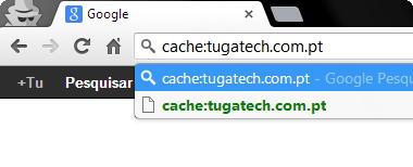 Cache do Google