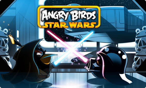 Angry Birds Star Wars no BlackBerry 10