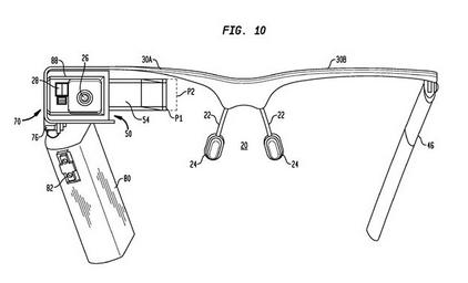Patente Google Glass