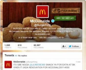 Twitter do Burger King