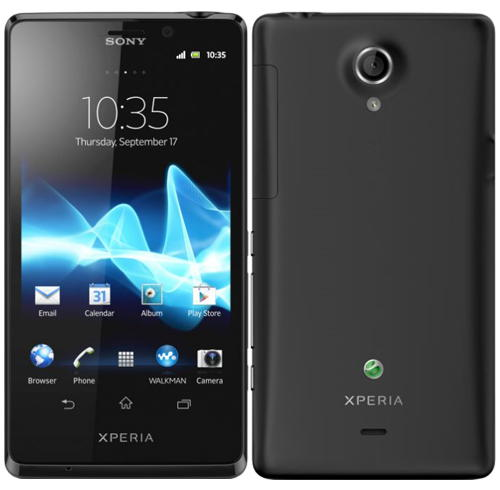 Sony Xperia T e Android 4.1.2