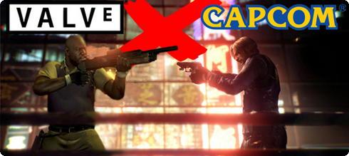 Valve e Capcom