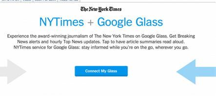 NY Times Google Glass