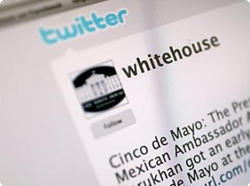 Twitter Casa branca