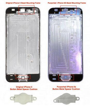 iPhone 5S interior