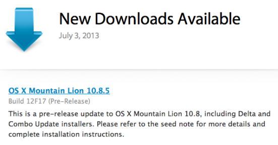 OS X 10.8.5