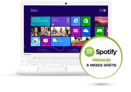 Toshiba e Spotify