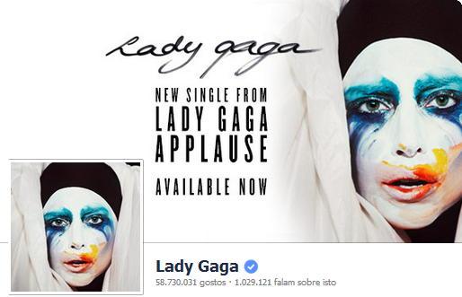 Facebook Lady Gaga