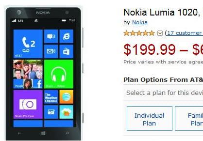 Nokia Lumia Amazon