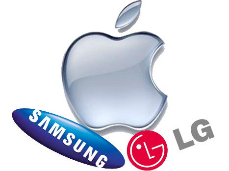 lg apple Samsung