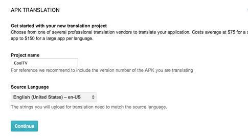 google traduzir apps