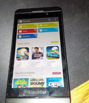 google store no blackberry