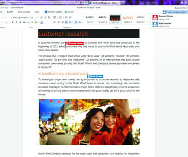 Microsoft Office cloud múltiplos utilizadores