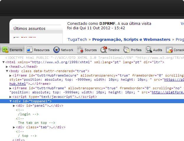 Ocultar um código Tugatech-2012-10-11_19.22.59