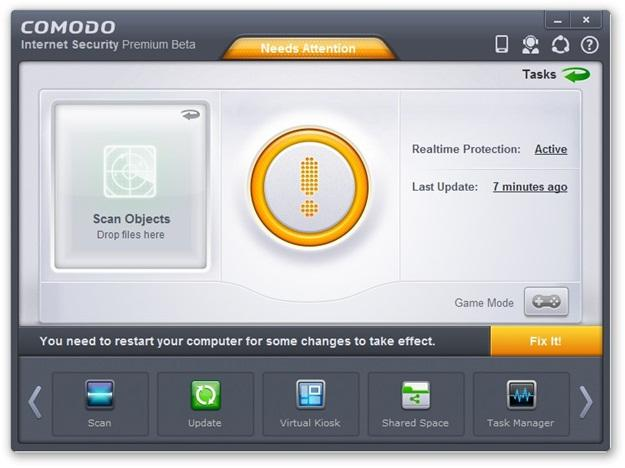 Comodo Internet Security 2013 Beta