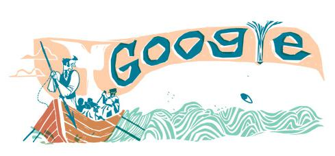 Google Doodle - Moby Dick