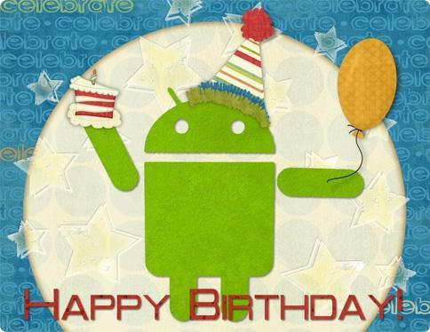 Aniversário do Android