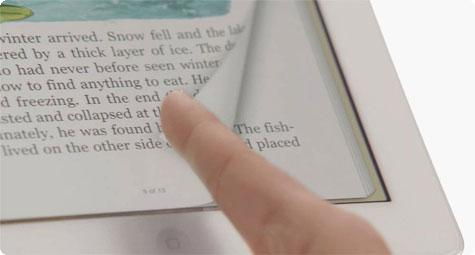Apple patente de virar pagina