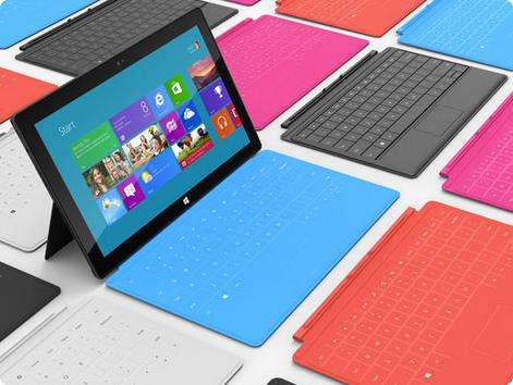 Surface RT da Microsoft