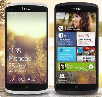 HTC e Windows Phone 8