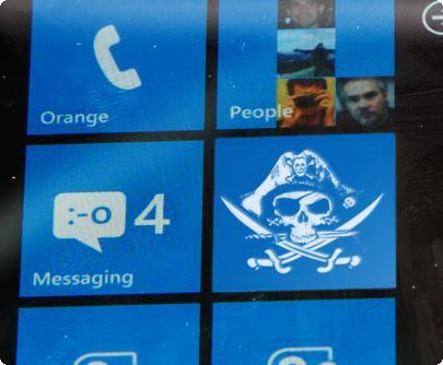 Windows Phone 8 Piracy