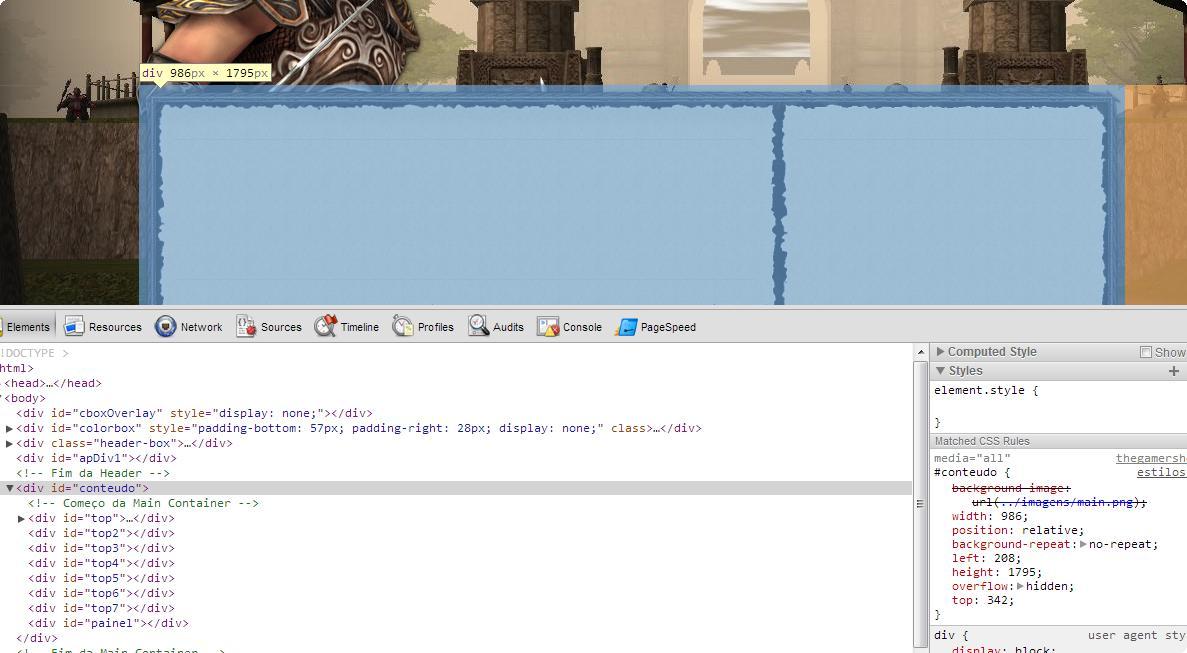 [HTML] Dúvidas na criação de website Tugatech-2012-12-17_10.14.21