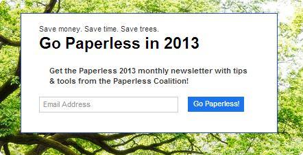 Paperless 2013