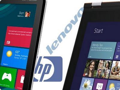HP e Lenovo