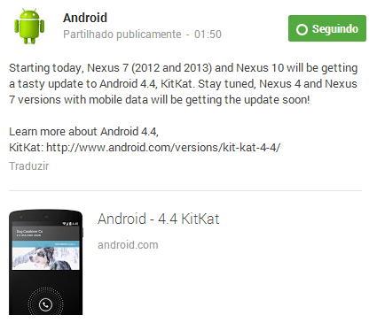 android 4.4 nexus