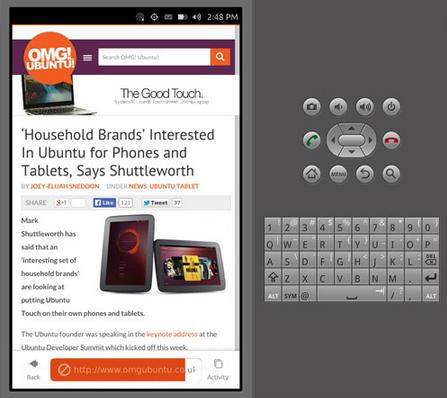 Ubuntu Touch emulador