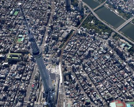google maps toquio 3d