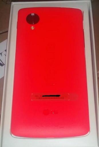 Nexus 5 vermelho