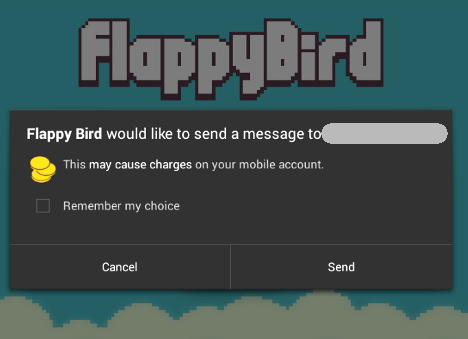 flappy bird e malware no android
