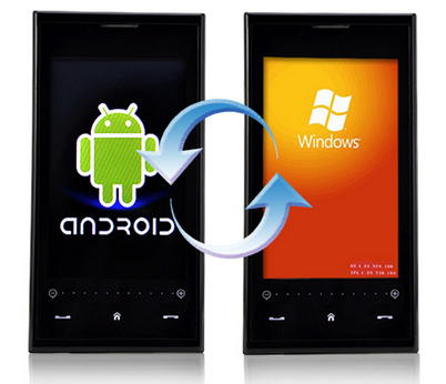 windows phone e android