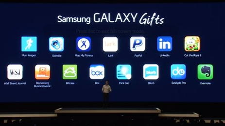 samsung s5 gifts