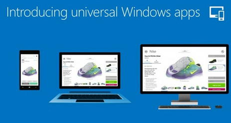 Microsoft aplicações universais