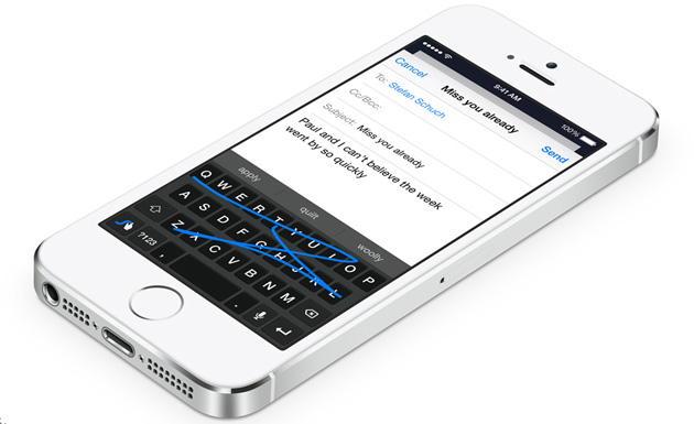 iOS 8 teclado
