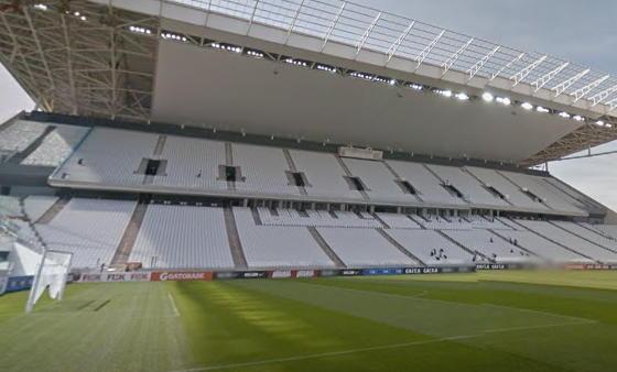 google maps estadios brasil