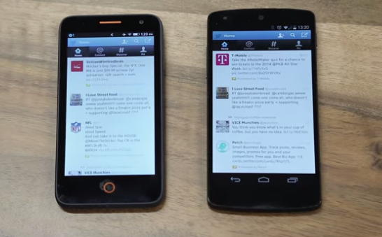 firefox os e android