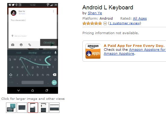 android l teclado