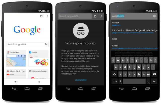 chrome beta para android