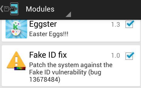 fake id fix módulo