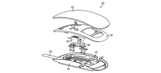 apple patente rato vibração
