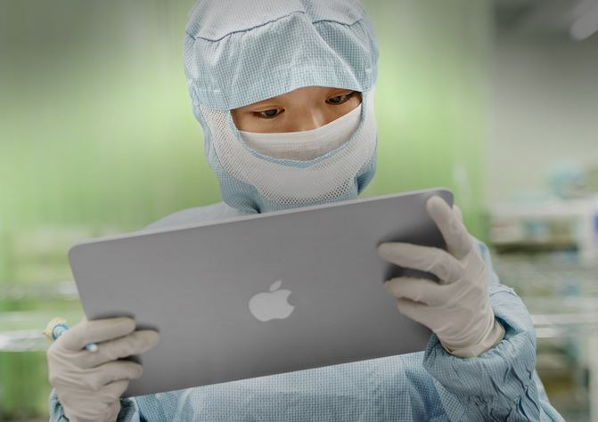 apple fabrica
