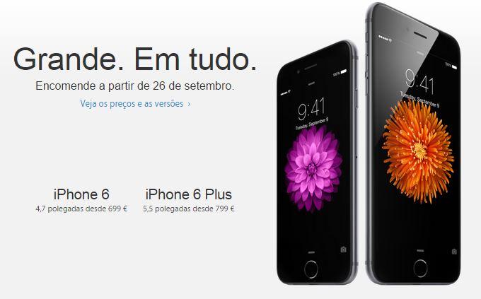 apple iphone 6 e 6 plus