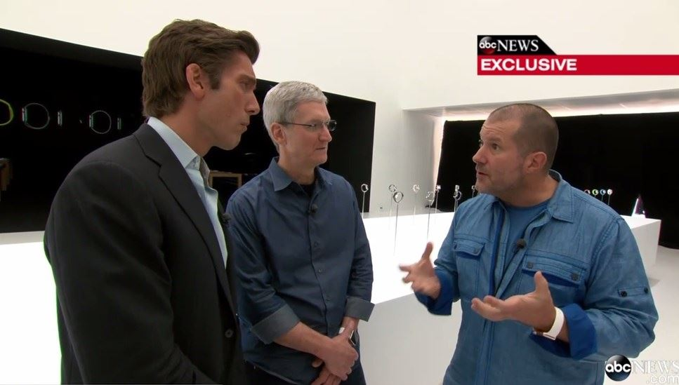 tim cook e jonh Ive apple