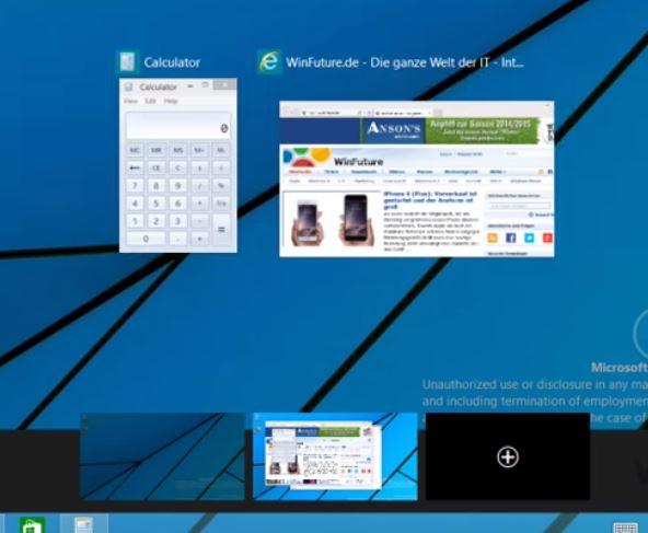windows 9 ambientes de trabalho virtuais