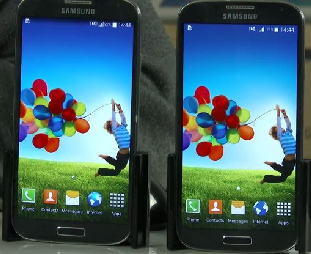 samsung galaxy s4 android comparação