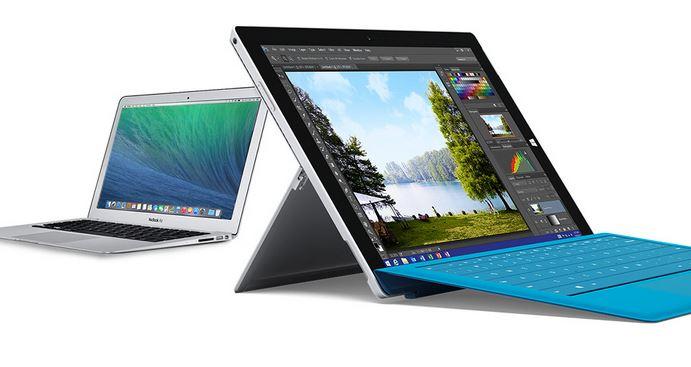 macbook surface pro 3